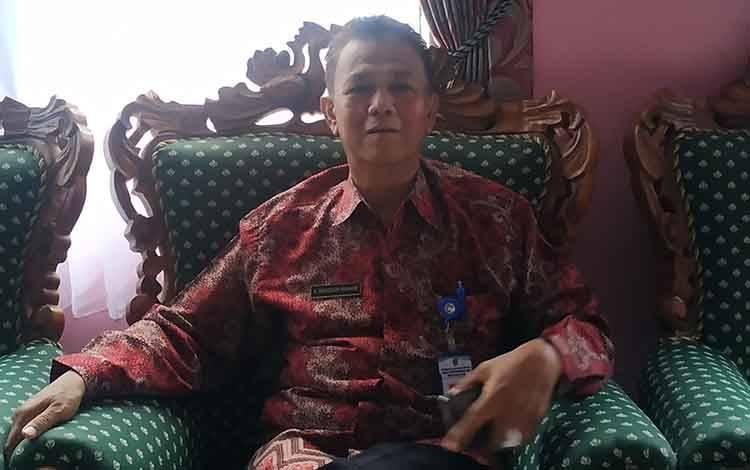 Kepala Dinas Dukcapil Kabupaten Seruyan, Mansyur Ibrahim.