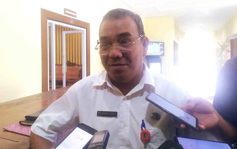 Kepala BPPRD Kota Palangka Raya, Aratuni D Djaban.