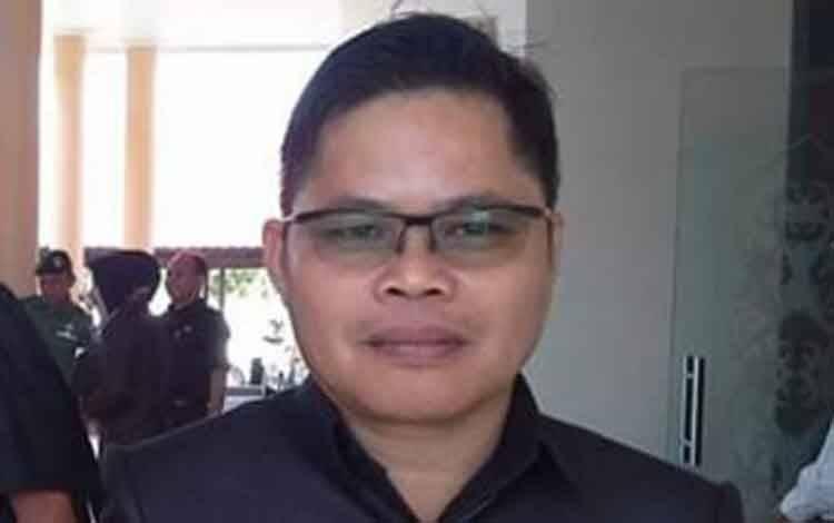 Koordinator Sekretaris Gugus Tugas Covid-19 Kabupaten Katingan, Eka Suryadilaga