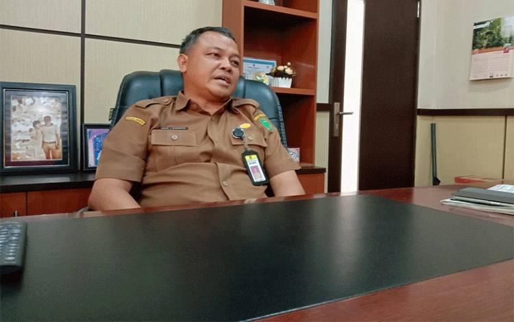 Kepala DPUPR Kabupaten Pulang Pisau, Usis I Sangkai menyebutkan bahwa tahun ini pemerintah menganggarkan Rp 170 miliar untuk pembangunan infrastruktur, Sabtu, 15 Febuari 2020.