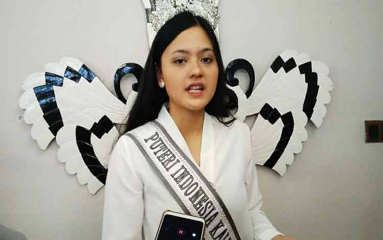 Putri Indonesia Kalteng 2020, Amelia Nurmawati Edmil