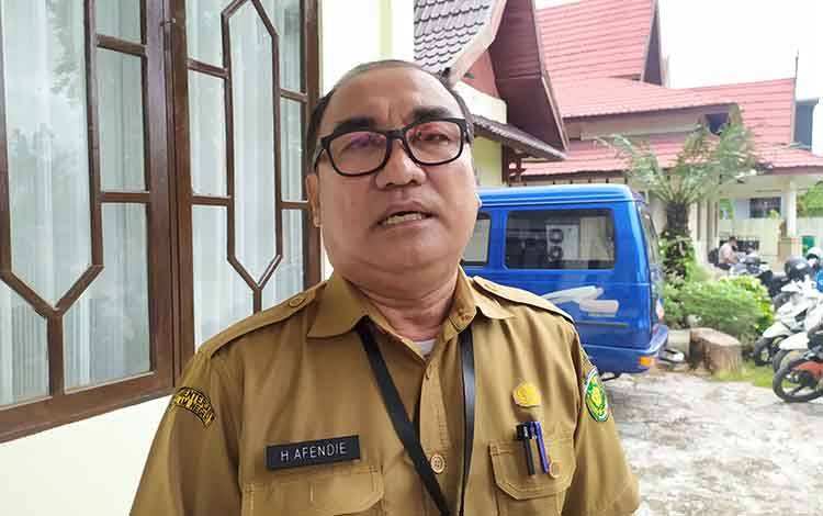 Kepala Dinas Dukcapil Kota Palangka Raya, Afendie mengatakan perekaman KTP tetap dilakukan di kantor dinas.
