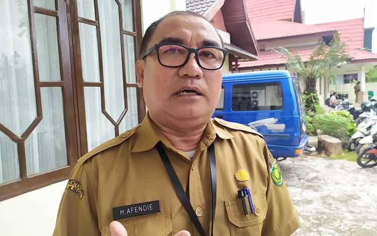 Kepala Dinas Kependudukan dan Catatan Sipil Kota Palangka Raya, Afendie