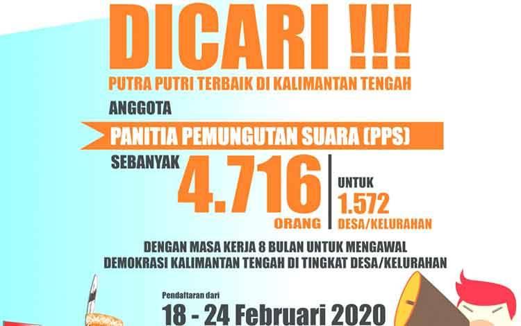 Pengumuman dari KPU Provinsi Kalimantan Tengah