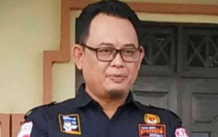 Ketua KPU Kalimantan Tengah Harmain Ibrohim