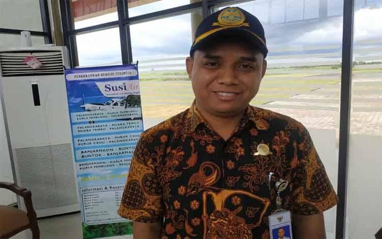 Kepala Bandara Kuala Pembuang, M Haridin