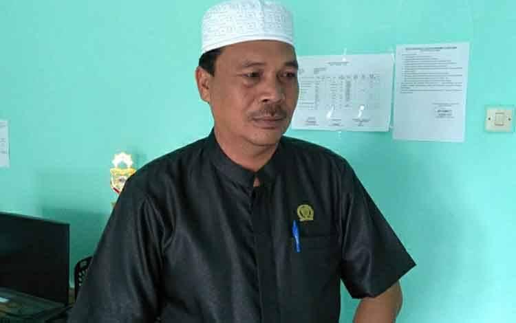 Anggota DPRD Kapuas Ahmad Baihaqi menyampaikan harapannya pada Musrenbang Kecamatan Bataguh