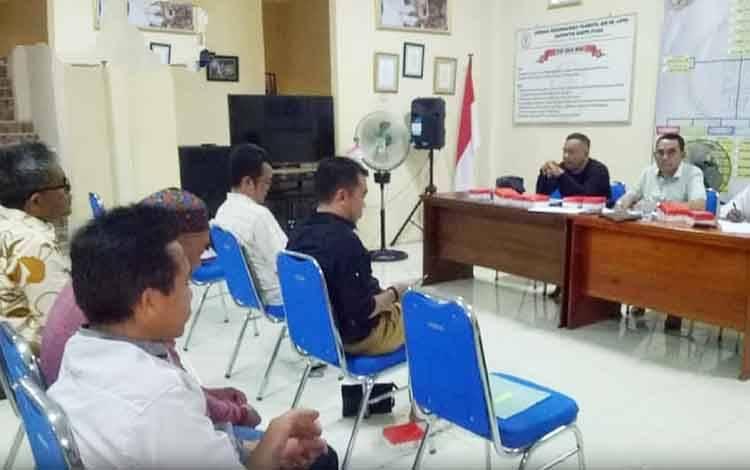 Rapat persiapan MTQ ke 51 Kabupaten Barito Utara, Rabu, 19 Februari 2020.