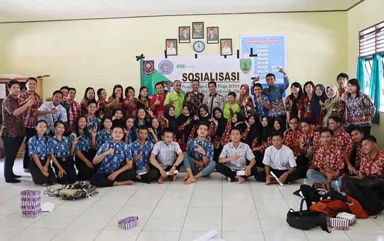 BKPSDM Barito Timur melakukan sosialisasi penerimaan IPDN 2020.