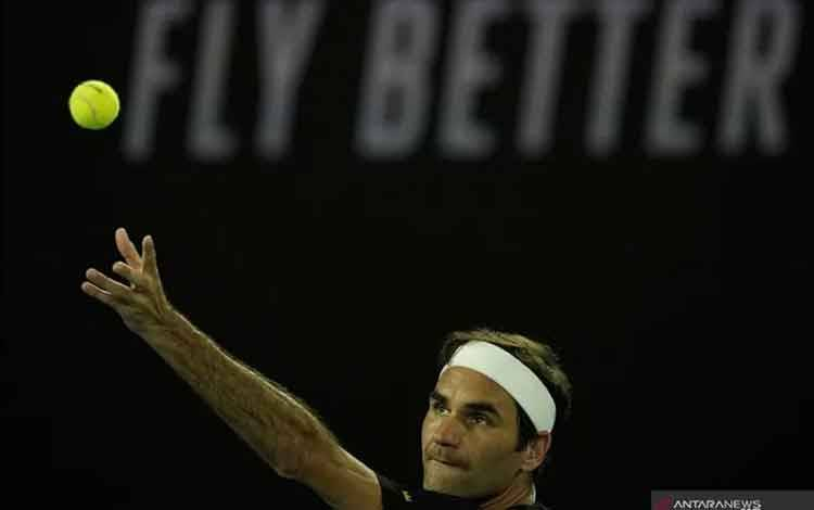 Roger Federer. ANTARA FOTO/REUTERS/Kim Hong-ji/wsj.