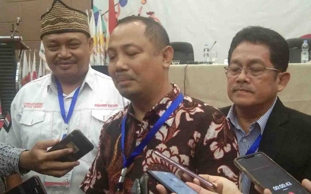 Ketua Umum KONI Kalteng terpilih, Eddy Raya Samsuri.