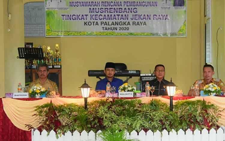 Wali Kota Palangka Raya Fairid Naparin, ingin capai indikator makro RPJMD melalui Musrenbang.