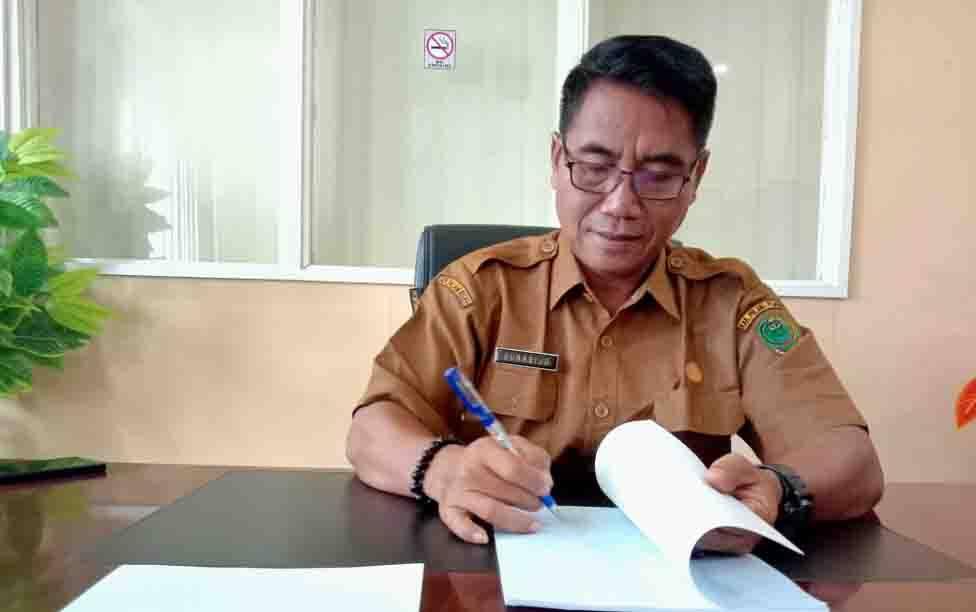 Kepala Disdukcapil Kabupaten Pulang Pisau, Subagio.