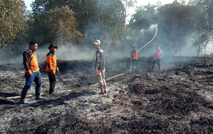 Kabakaran Hutan dan lahan di Desa Dangka