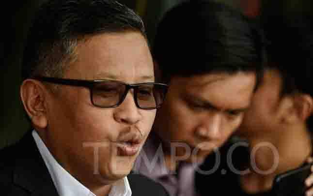 Sekjend PDIP, Hasto Kristiyanto. (foto : tempo.co)