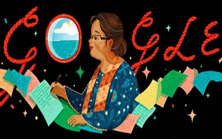NH Dini Jadi Google Doodle. (Google)