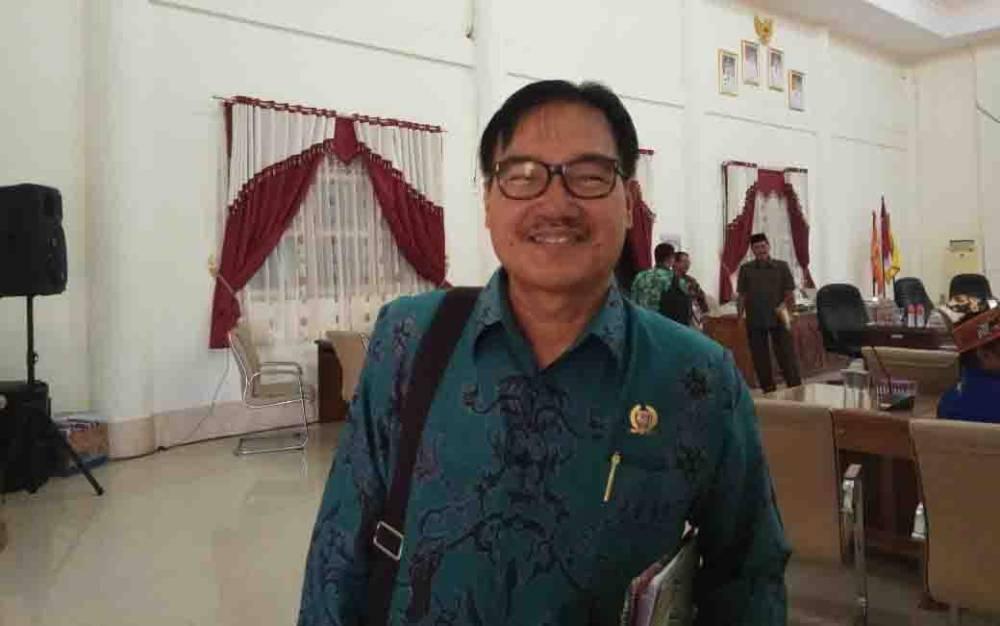 Ketua DPRD Barito Selatan, Farid Yusran.