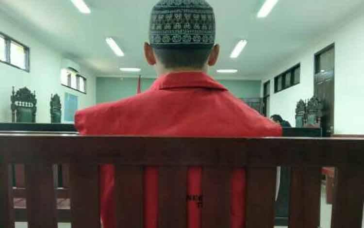 Lukmanul Hakim, terdakwa lakalantas.