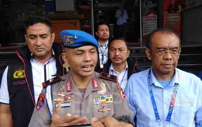 Brigadir Jenderal Hendro Pandowo saat konferensi pers di Polda Metro Jaya, Jakarta Selatan, Selasa, 18 Februari 2020. (foto : tempo.co)
