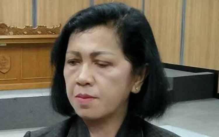 Ketua DPRD Kotim, Rinie A Gagah.