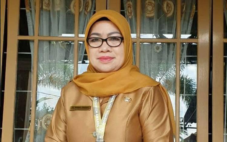 Kepala Dinas Perpustakaan dan Kearsipan Kota Palangka Raya, Hj Norma Hikmah.