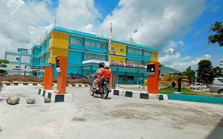 Alat parkir elektrik di RSUD Sultan Imanuddin Pangkalan Bun rusak, DPRD Kobar minta jangan ada pungutan.