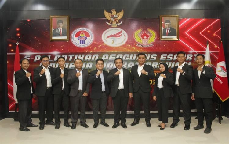 Pengurus Esports Indonesia Kalteng dilantik