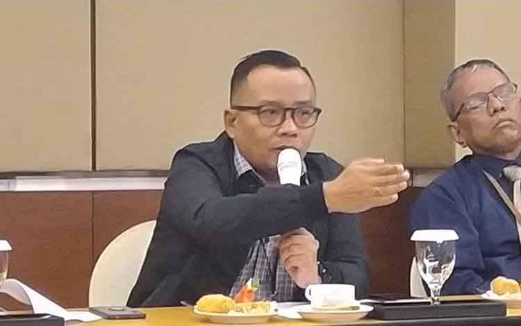 Kepala OJK Provinsi Kalimantan Tengah, Otto Fitriandy.