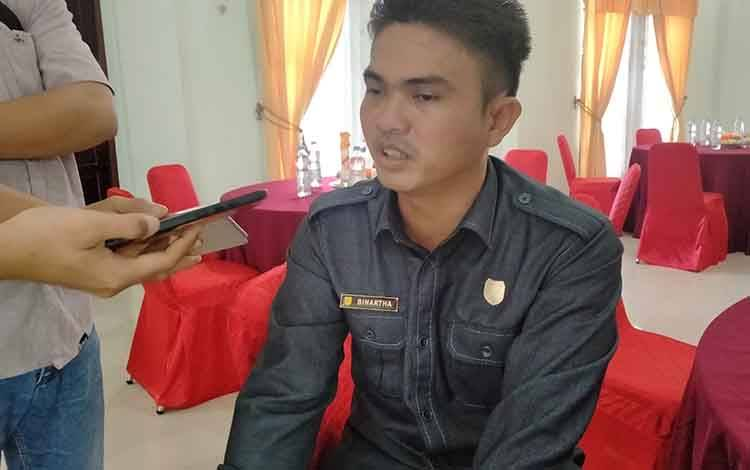 Wakil Ketua DPRD Gunung Mas, Binartha apresiasi Pemkab cepat tanggap pencegahan virus Corona