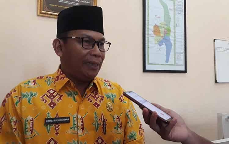 Wakil Ketua II DPRD Kotawaringin Barat, Bambang Suherman.