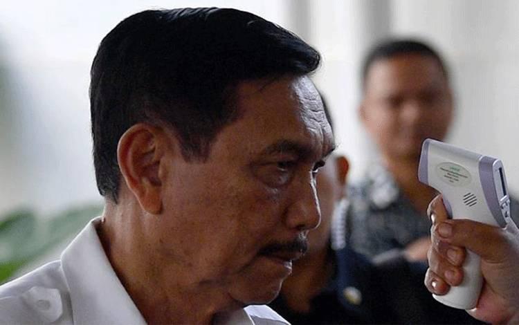 Menteri Kelautan dan Perikanan ad interim Luhut Binsar Pandjaitan