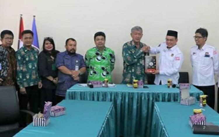 IAHN-TP Palangka Raya menerima Audensi dari KPU Provinsi Kalimantan Tengah
