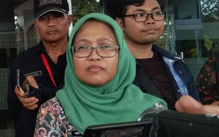 Direktur RSUD Doris Sylvanus Palangka Raya, Yayu Indriaty.