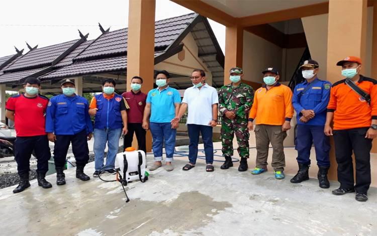 Tim Posko Gugus Tugas Covid-19 Kabupaten Pulang Pisau gencar melakukan pencegahan, penghentian dan penyebaran virus corona, Senin, 23 Maret 2020