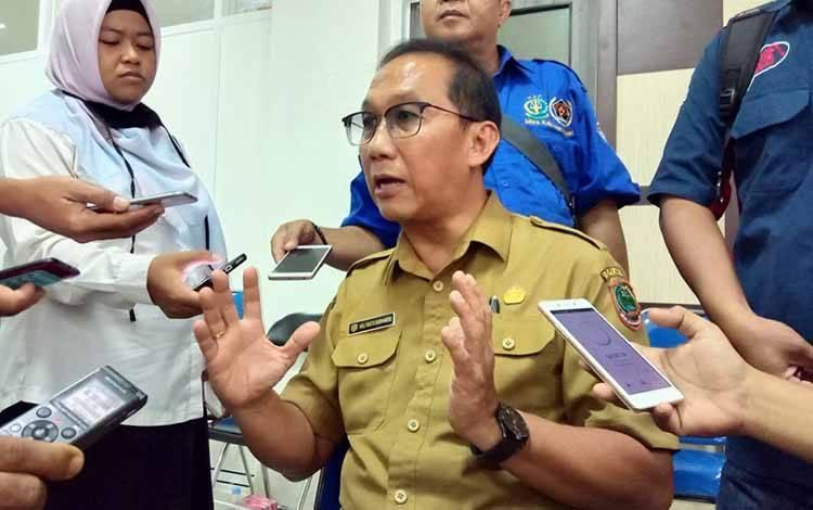 Kepala Dinkes Kabupaten Pulang Pisau, dr Muliyanto Budihardjo.