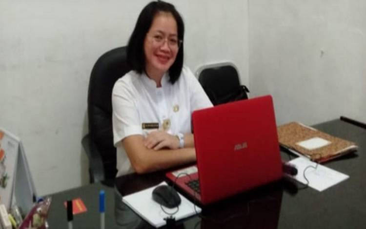 Plt Kepala BKPSDM Gunung Mas, Sri Putri Pratiwi