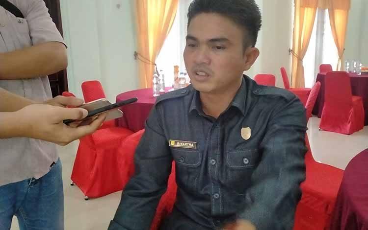 Wakil Ketua I DPRD Gunung Mas, Binartha