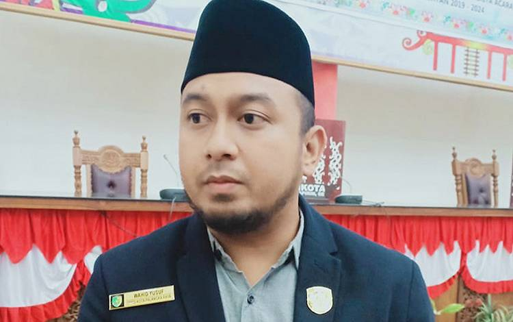 Wakil Ketua I DPRD Kota Palangka Raya, Wahid Yusuf.