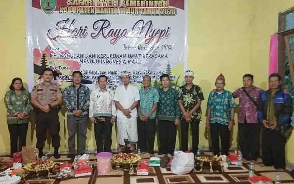 Hari Raya Nyepi di Barito Timur.