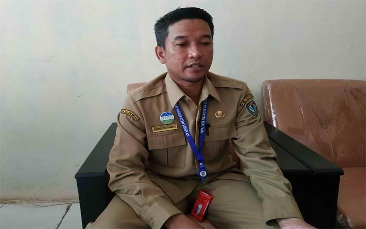 Kepala DPMPTSP Seruyan, Agung Setiawan