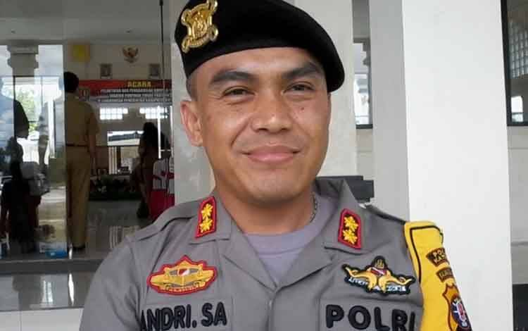 Kapolres Katingan AKBP Andri Siswan Ansyah.