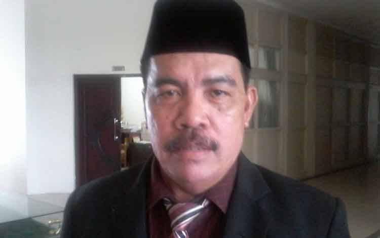 Kepala Badan Kepegawaian, Pendidikan dan Pelatihan Kabupaten Katingan, Bambang Harianto.