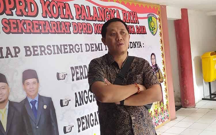Anggota Komisi C DPRD Palangka Raya Sigit Widodo