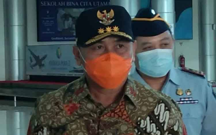 Gubernur Kalimantan Tengah H. Sugianto Sabran
