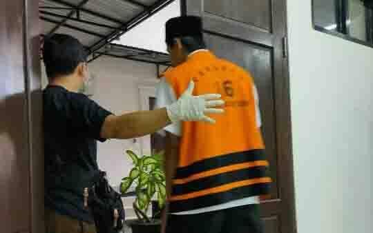 Terdakwa kasus sabu, M Fajrianur alias Fajri.