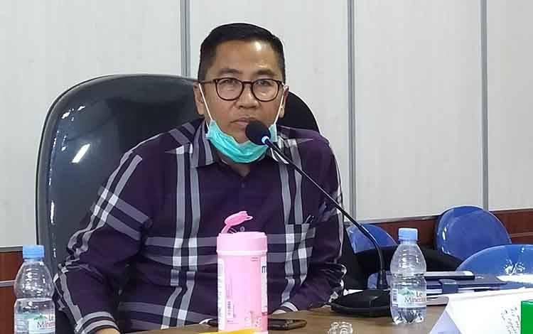 Ketua Tim Gugus Tugas Covid-19 Kalteng, Leonard S Ampung.
