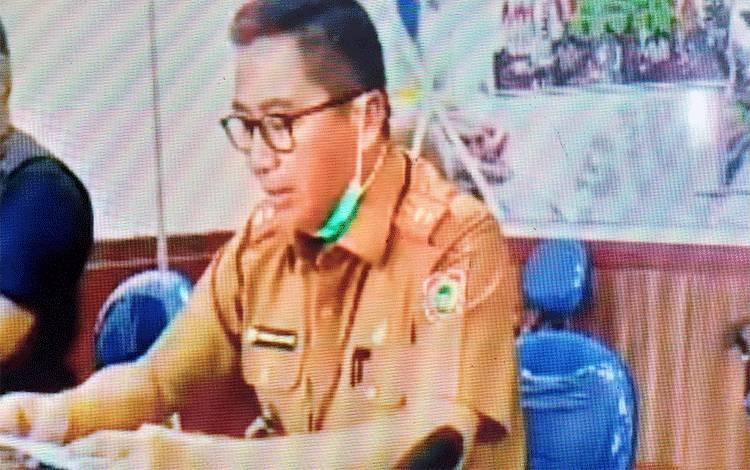 Ketua Tim Gugus Percepataan Penanganan Covid-19 Provinsi Kalimantan Tengah, Leonard S Ampung.