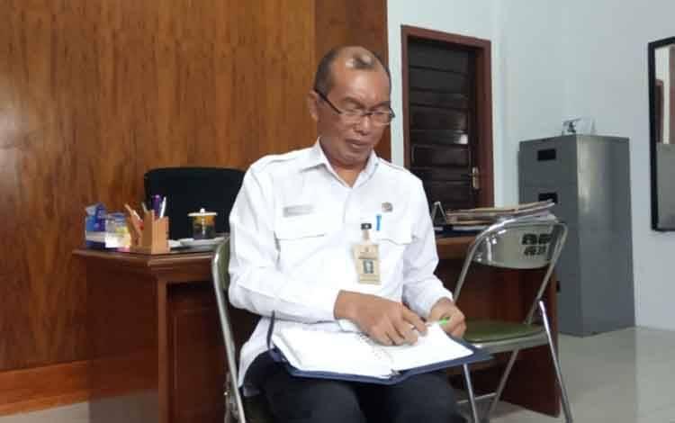 Jubir penanggulangan dan pencegahan covid-19 Pemkab Kobar Achmad Rois