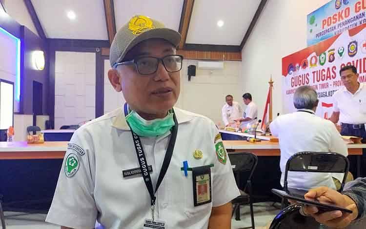 Kepala Dinas Kesehatan Kotim, Faisal Novendra Cahyanto.