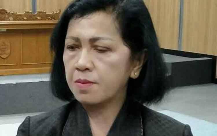 Ketua DPRD Kotim Rinie A Gagah